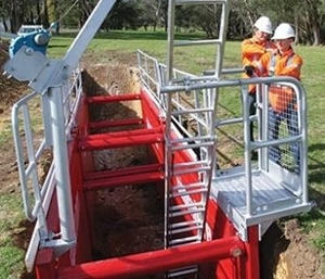 Ladder Access Platform & Edge Protection