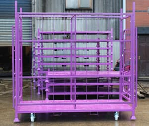 HW Engineering Custom Builit Glass Transport Stillages